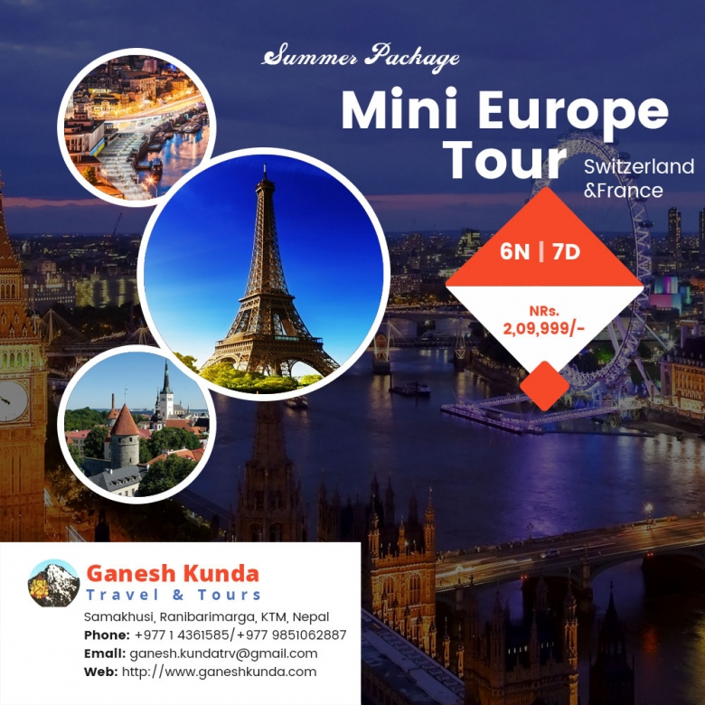 Special package for Mini Europe Tour