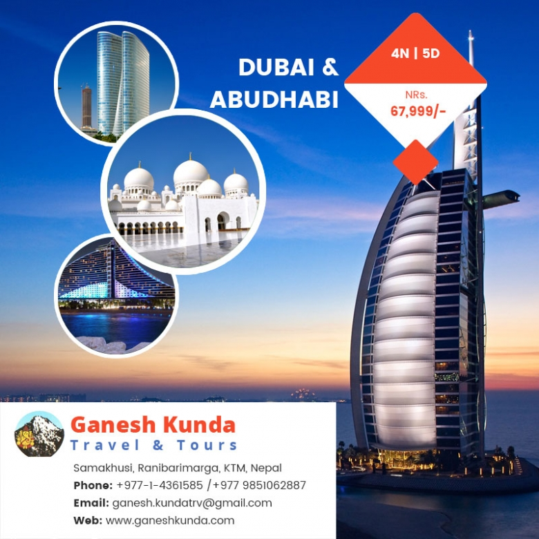 Special Offer for Dubai & Abudhabi