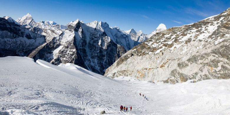 Imja Tse Peak Climb to Kala Patthar Summit and Everest Base Camp (EBC).