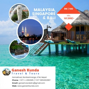 Special Offer for Malaysia, Singapore & Bali